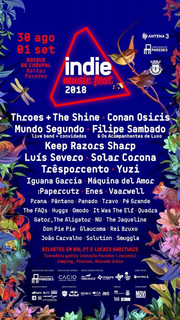 Live @ Indie Music Fest 2018 - REI BRUXO